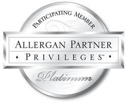 Allergan Partner Platinum logo.